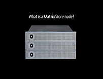 What is a MatrixStore node?
