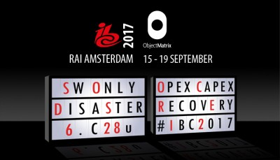 IBC 2017 RAI Amsterdam Object Matrix