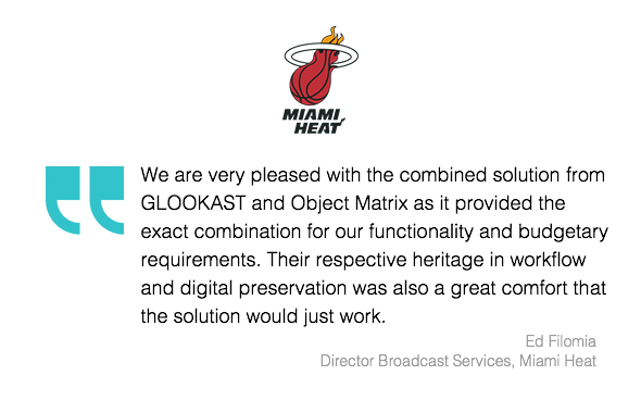 Miami Heat Review Object Matrix