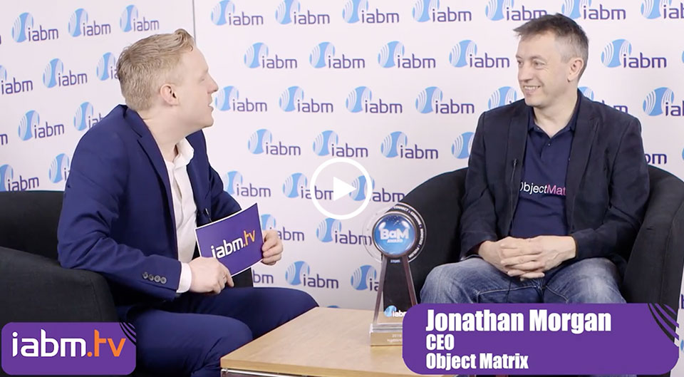 IABM Interview Jon Morgan