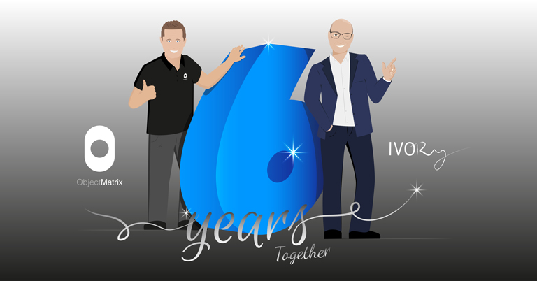 IVORY & Object Matrix Celebrating 6 years Partnership