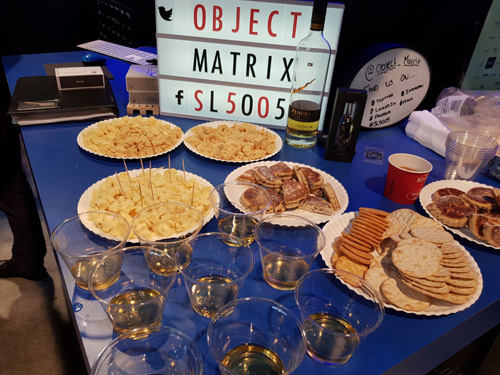 NAB 2018, Las Vegas Object Matrix