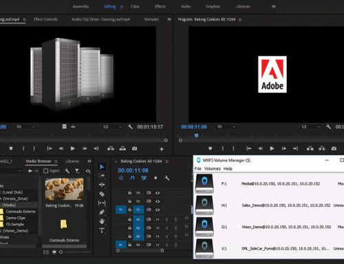 Object Matrix Demonstrating Integrated Workflows with Adobe Creative Cloud Video Apps at NAB
