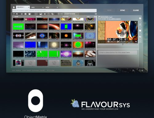 Object Matrix and FlavourSys Combine to Simplify Archival for Editorial
