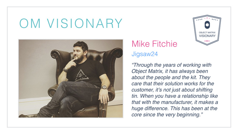 Mike Fitchie Visionary