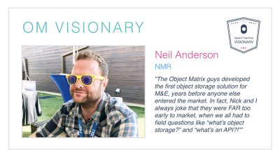 Neil Anderson – Object Matrix Visionary