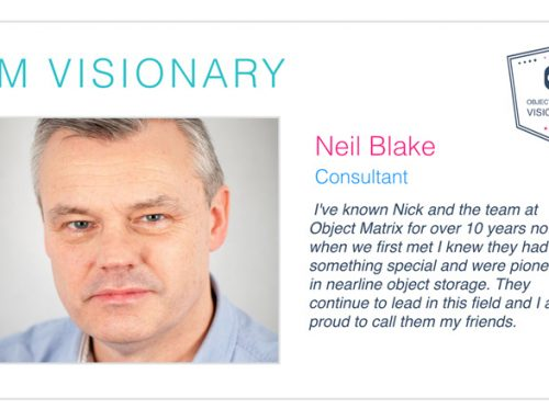 Neil Blake – Object Matrix Visionary