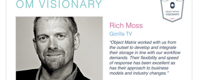 Rich Moss – Object Matrix Visionary
