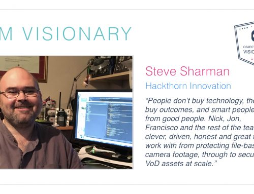 Steve Sharman – Object Matrix Visionary