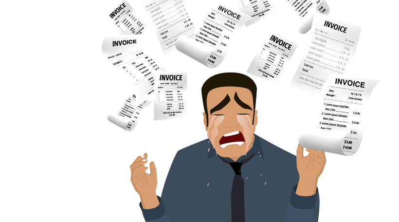 5 unpredictable things and getting a cold invoice shower