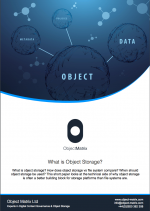 What is Object Storage? Datasheet