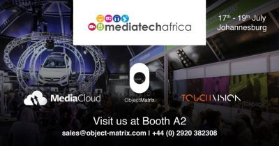 Object Matrix Exhibits at MediaTech South Africa