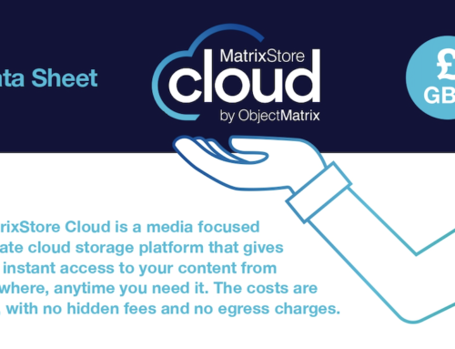 MatrixStore Cloud Datasheet