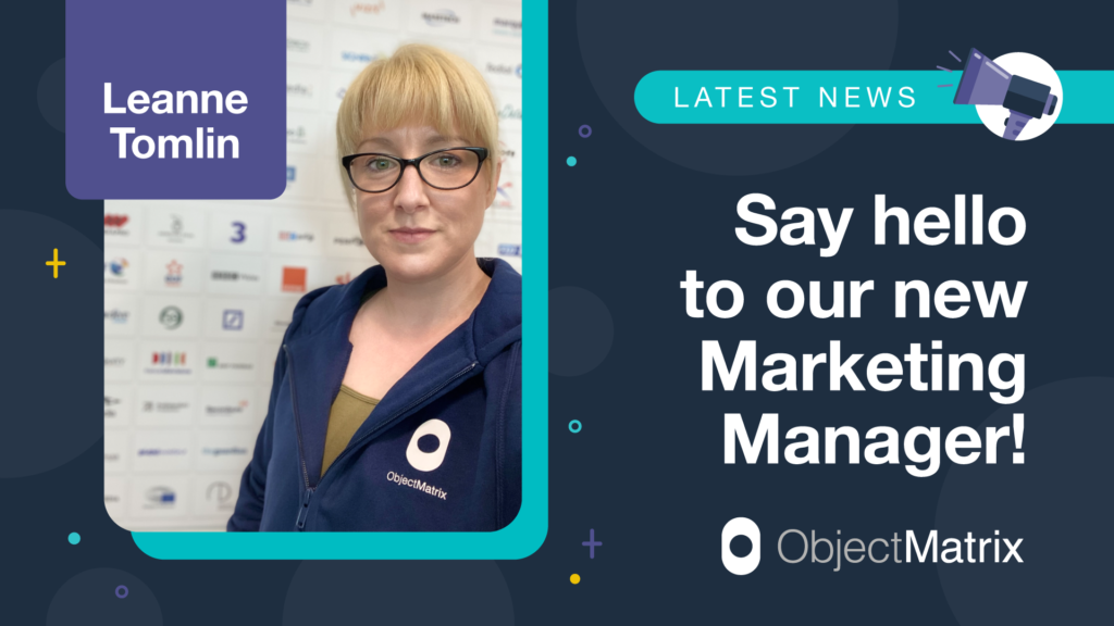 Object Matrix New Marketing Manager appointment
